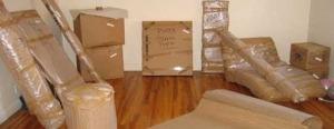جمع آوری و بسته بندی وسایل منزل